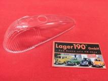 VW Käfer 08/57-10/63 Blinkerglas klar / transparent Glas HELLA Blinker PRÜFZEICHEN (89-020)