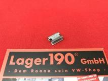 Klammer für Wasserabweiser VW Golf 1+2, Cabrio, Jetta I+II (-255)