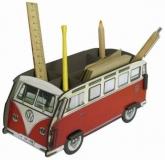 VW Bus T1 Stiftebox Box Zettelbox Bulli rot (94-002)