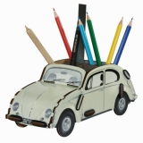 VW Käfer beige Stiftebox Box