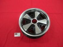 Fuxx Felge 4.5x15 5x205 schwarz/poliert - ohne TÜV -