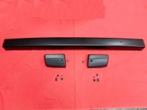 VW Bus T3 Stoßstange hinten schwarz 2,3mm+Ecken und Anbausätze
