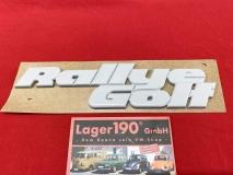 Schriftzug Rallye Golf für VW Golf 2 Emblem NEU Original VW (-256)