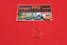 Dichtring für Verschlussschraube Öldruckregelkolben sowie VW Bus T2 Lenkgetriebe (22-007)