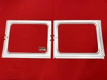 VW Bus T1 Rep.-Blech Innenblech für 2 Seitenfenster links (0890-234)