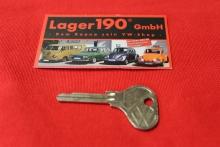 Schlüsselrohling - Profil V - VW Rohling Schlüssel NOS (63-111)