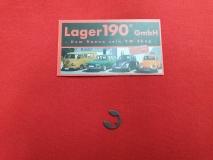 Sicherungscheibe Feder Dämpfer Fronthaube VW Käfer 62- (0572-5)