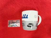 Kaffeebecher Bulli driver mit T1 bis T5 Motiven (07-098)