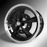 Rader JBW 7.0x17 5x205 schwarz/poliert - ohne TÜV -