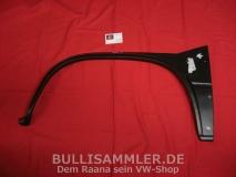 VW Bus Bulli T3 Reparaturblech Radlauf vorne links