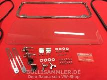 Hecksafari VW Bus T1 1955-1963 schmale Klappe, kein Samba, poliert (11-010)