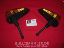 Käfer Blinkleuchten USA, Paar, Repro 1303 (0677/0678)