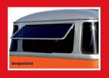 Hecksafari VW T1 Samba 1955-1963 + Brasil T1, schmale Klappe, poliert (11-028)