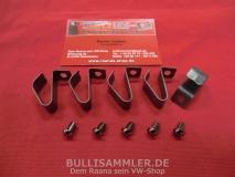 VW Käfer -65, VW Bus T1 bis 67, T2a Halteklammer Radkappe (2503)