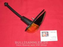 VW Käfer 08.57 - 10.63 Blinker vorne komplett, orange (0615)