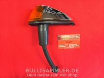 VW Käfer 7.65-74 Blinker vorne komplett, orange Chrom (0616-100)