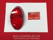 VW Käfer Original HASSIA Rückleuchte Rücklicht rot/rot (0612-500