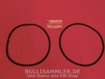 VW Käfer -67 Dichtung Scheinwerfer/Kotflügel + Bus T1 -67 Dichtung Scheinwerfer/Frontblech, Paar (0609)